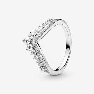 ✨Pandora  Princess Wishbone Ring